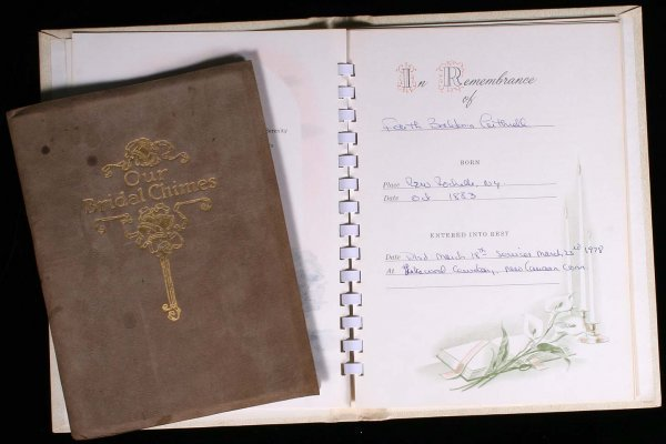 8: Wedding and Funeral Guest Books