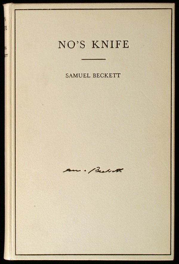 12: No's Knife: Collected Shorter Prose, 1945-66