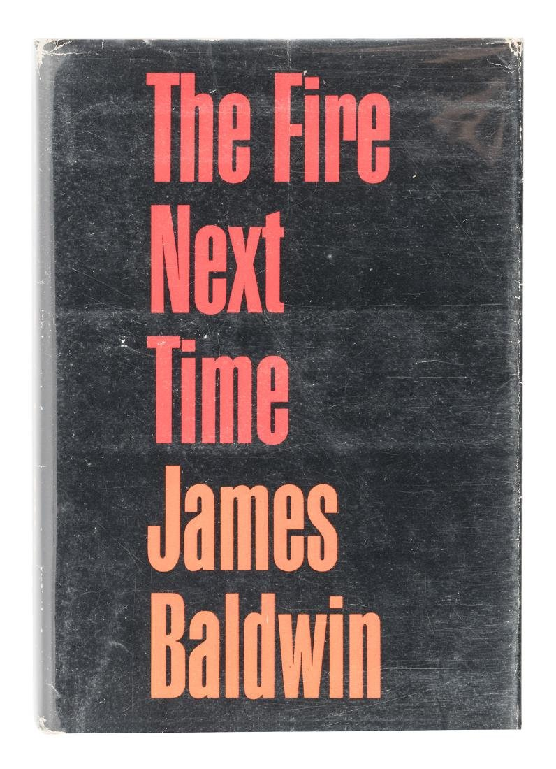 James Baldwin The Fire Next Time signed