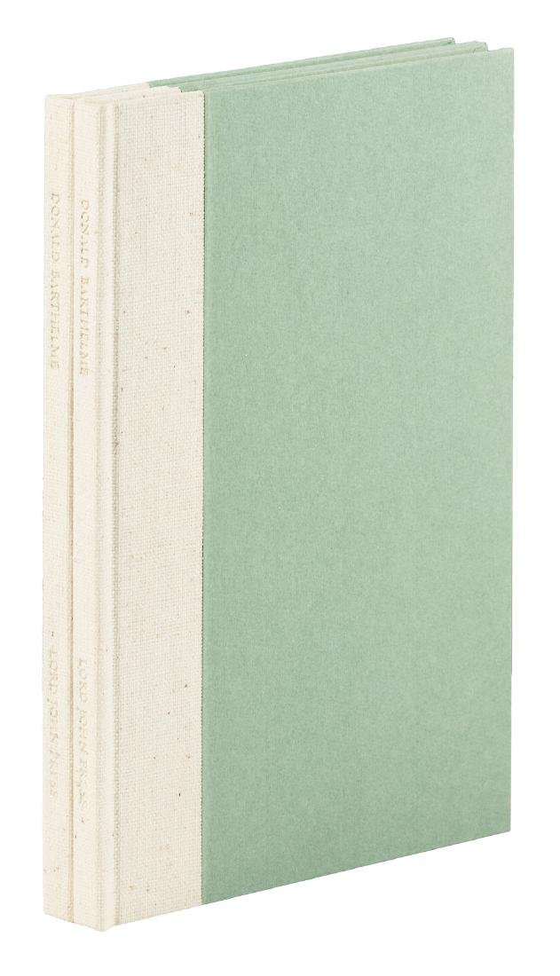 Donald Barthelme, Signed Limited Edition