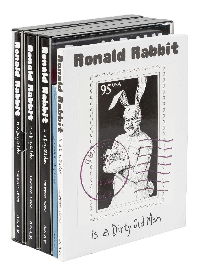 Lawrence Block Ronald Rabbit - 5 signed copies