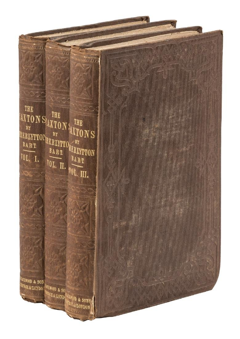 Bulwer-Lytton's 1st novel about the Caxtons