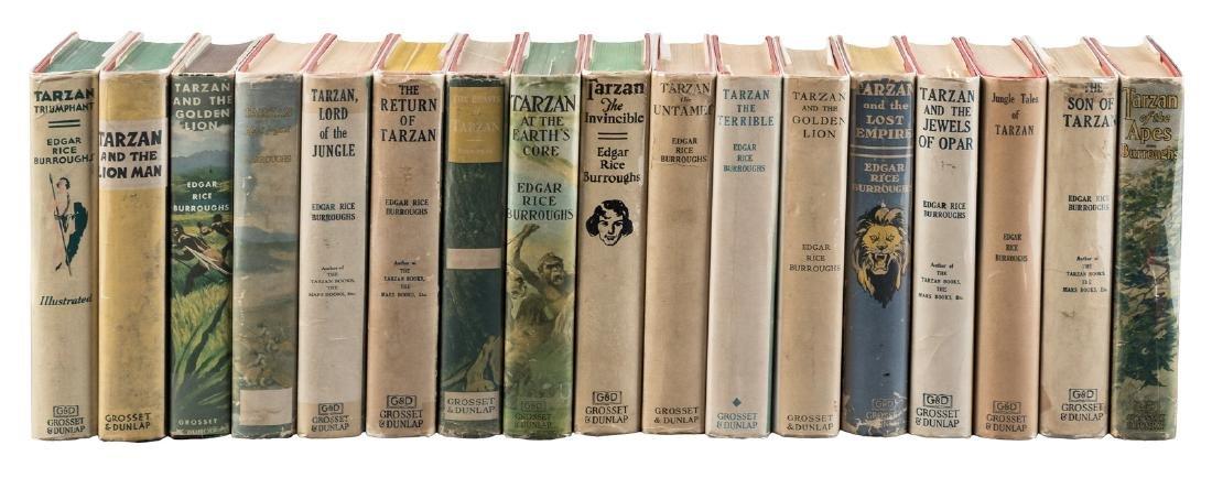 17 Tarzan titles in jackets