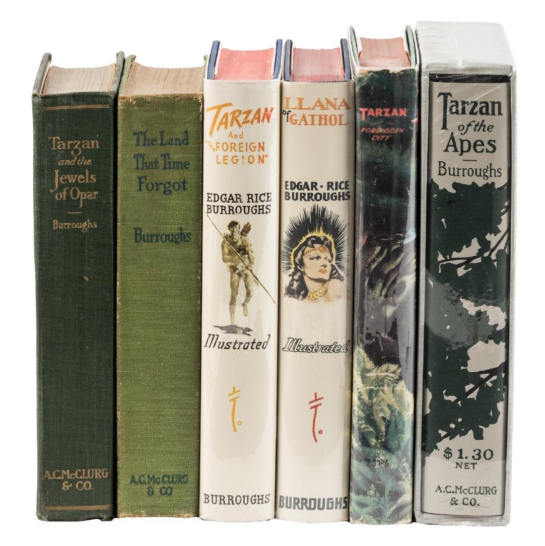Includes 2 fine Edgar Rice Burroughs, Inc. vols.