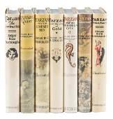 Lot of 7 Tarzan first editions