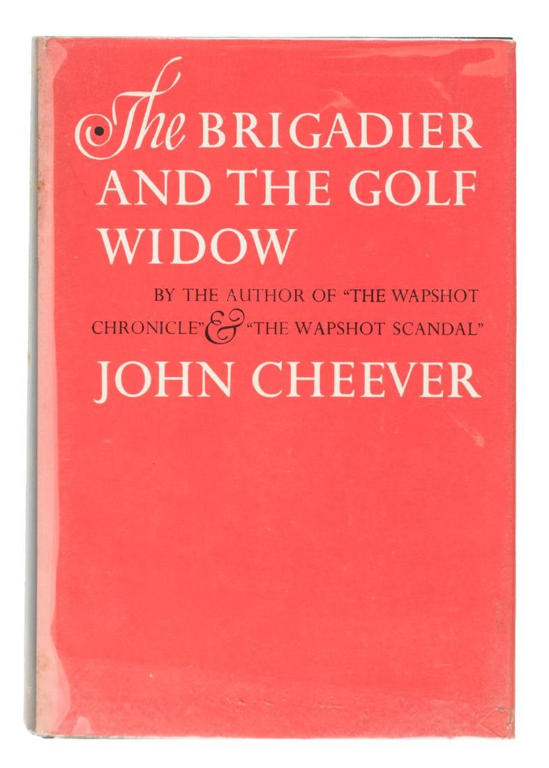 Cheever's Golf Widow signed