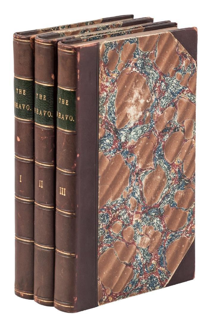 James Fenimore Cooper's 1st novel set in Europe