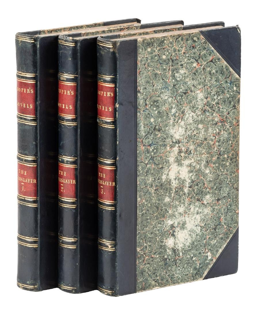 1st English edition of The Deerslayer