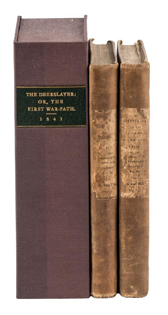 First edition of Cooper's Deerslayer