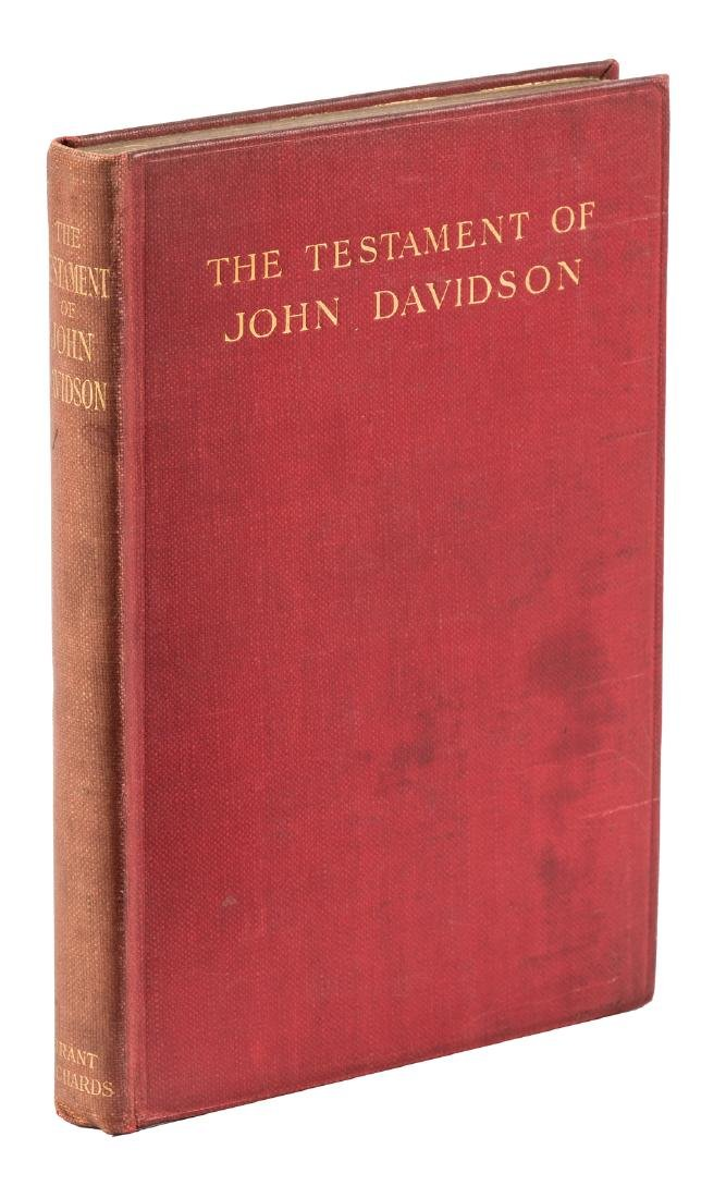 Final installment in Davidson's Testament series