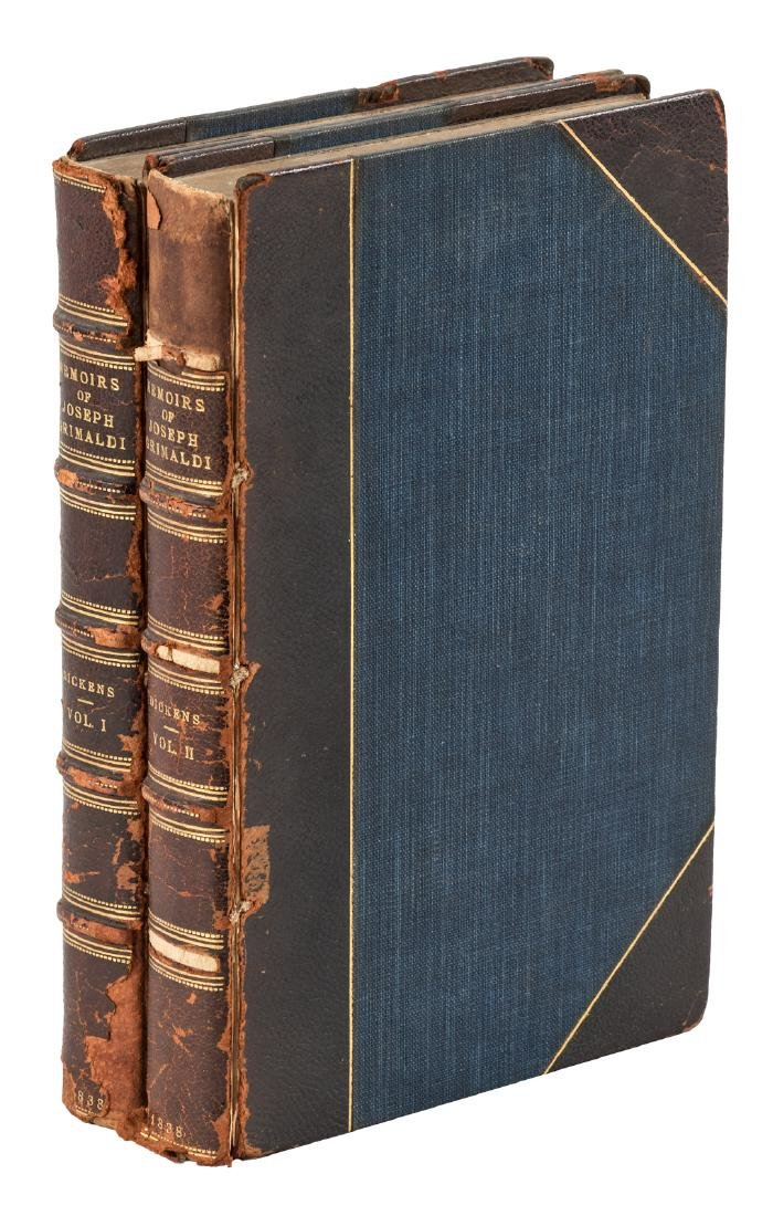 Memoirs of Joseph Grimaldi by Dickens 2nd issue