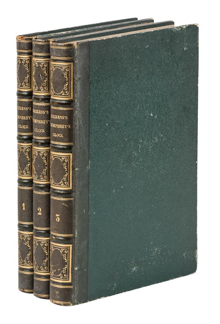 First edition in book form of Dickens' Master
