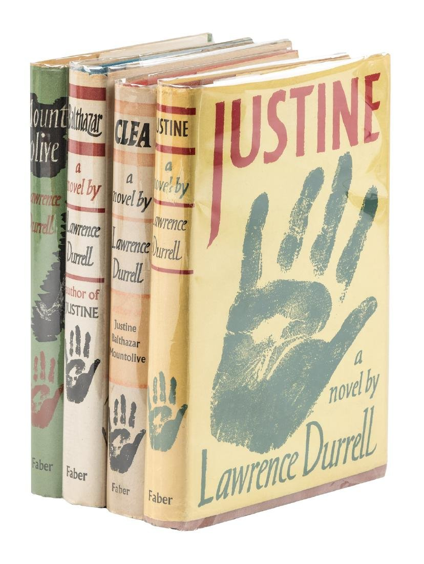 Durrell's Alexandria Quartet first editions