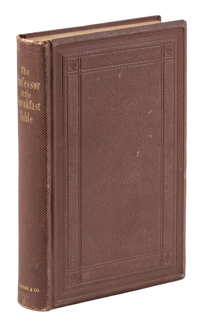 The Professor at the Breakfast Table by Oliver Wendell