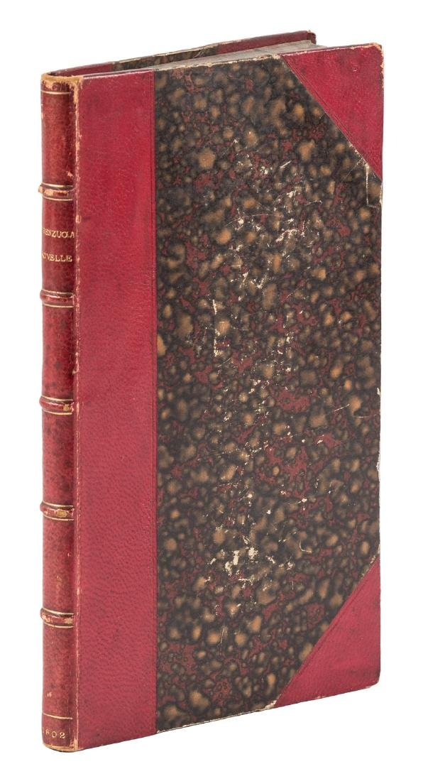 Early 19th c. edition of Firenzuola's work of fiction