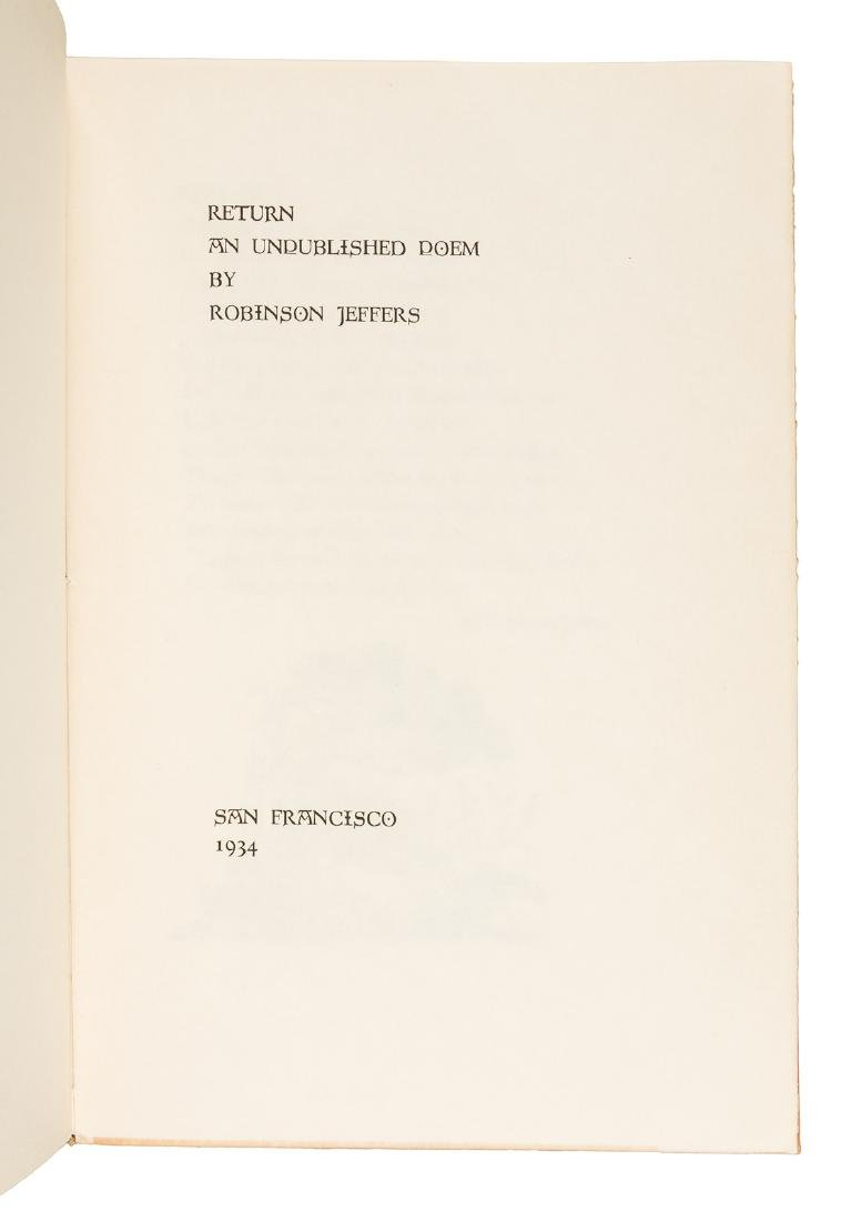 Printed by the Grabhorn Press and gifted to the