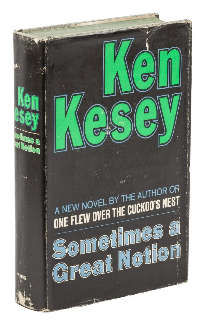 Ken Kesey Sometimes a Great Notion Signed