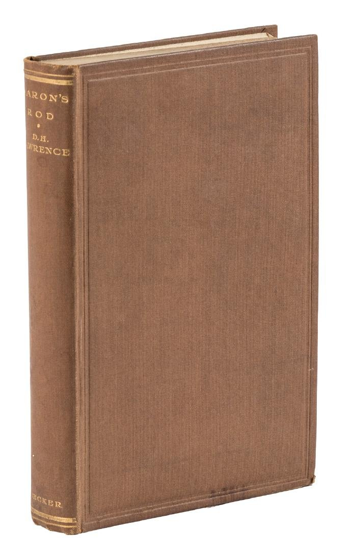 1st English edition of D. H. Lawrence's Aaron's Rod