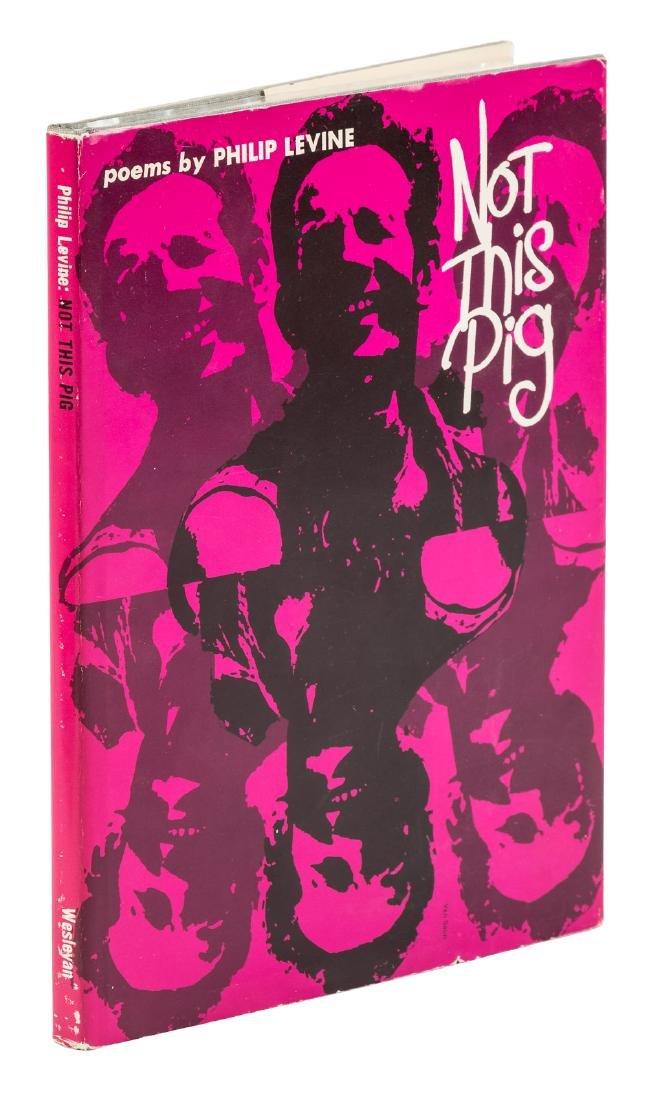 Philip Levine's Not This Pig - signed