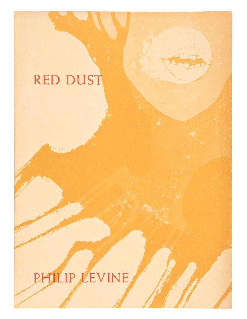 Philip Levine's Red Dust - inscribed