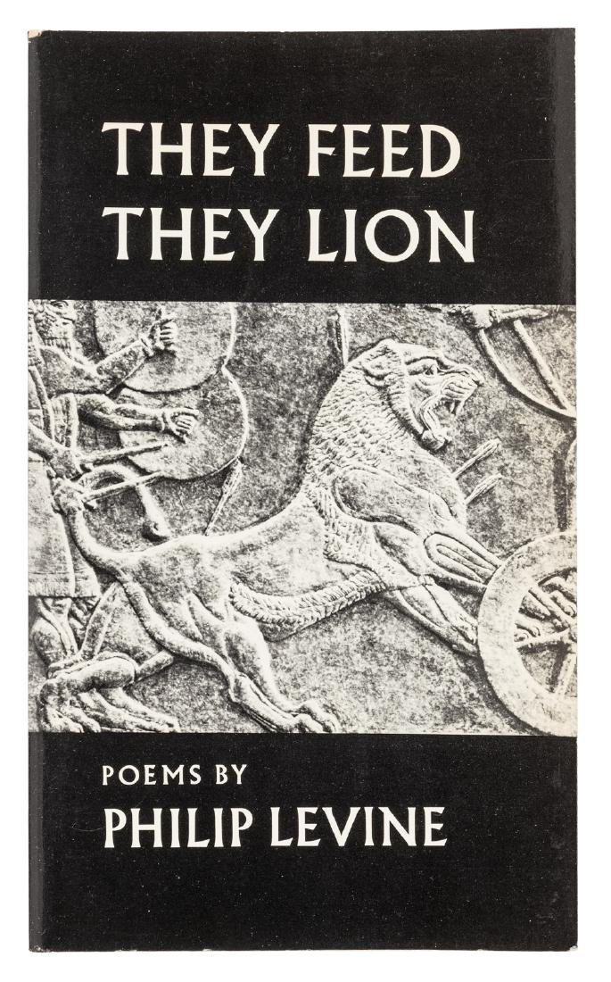 Philip Levine They Feed They Lion - signed