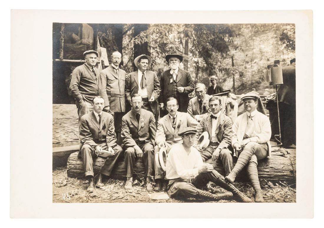 Jack London & George Sterling at the Bohemian Grove