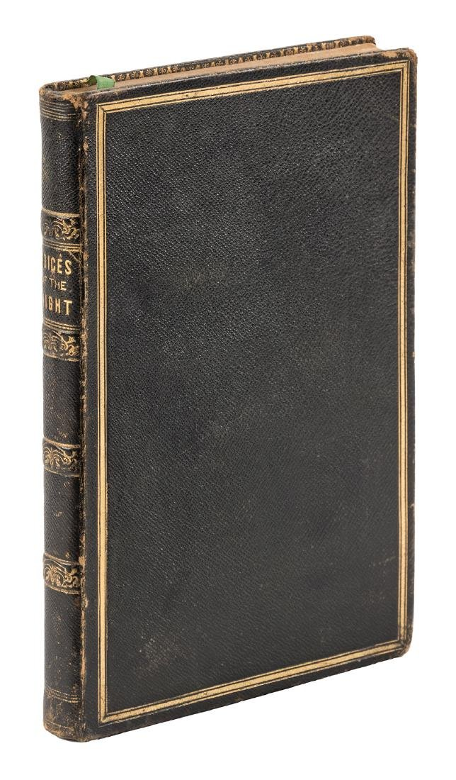 Longfellow's first published book of poetry bound by