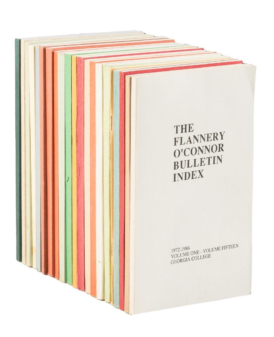 The Flannery O'Connor Bulletin - twenty-one issues