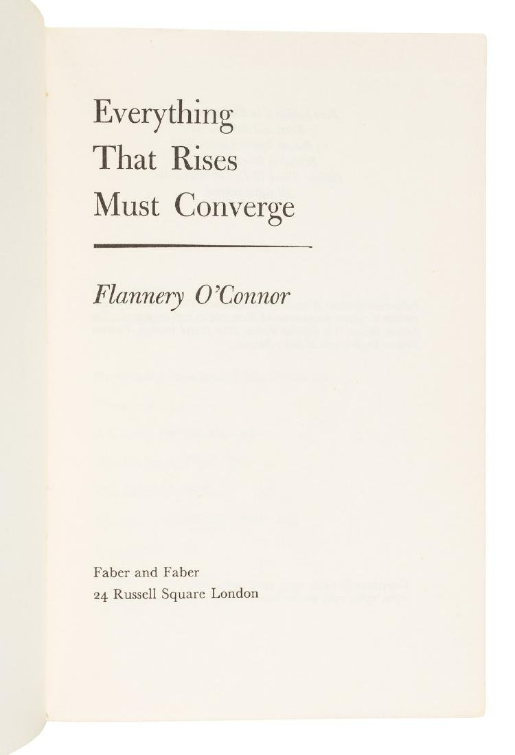 O'Connor's Everything That Rises - ARC