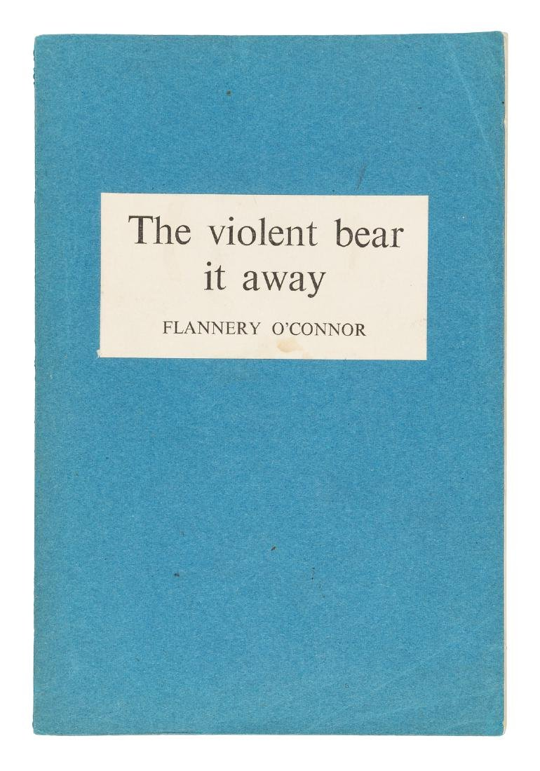 O'Connor's Violent Bear it Away - ARC