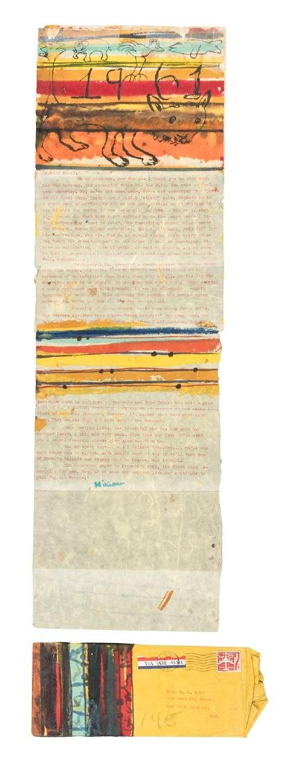 Large collection of correspondence from Miriam Patchen