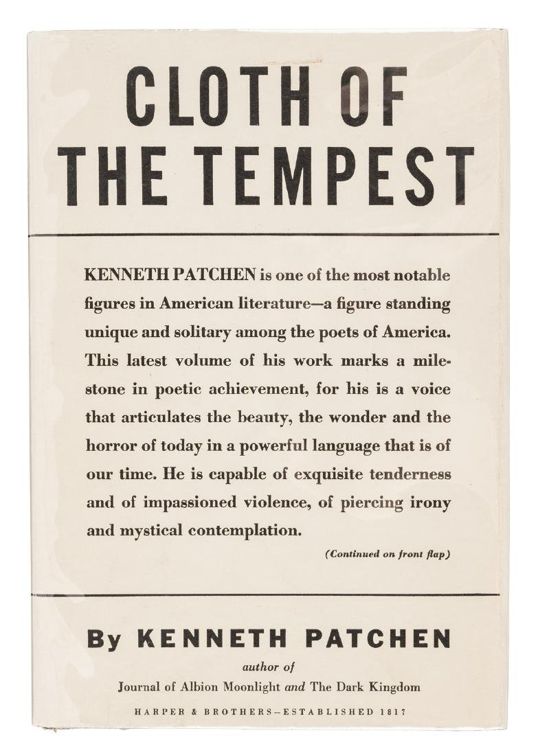 Kenneth Patchen's Cloth of the Tempest - inscribed