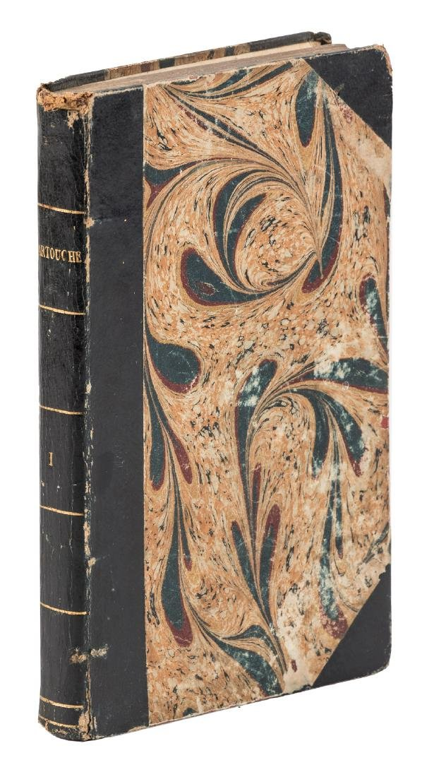 Novel of the legendary French highwayman, Cartouche