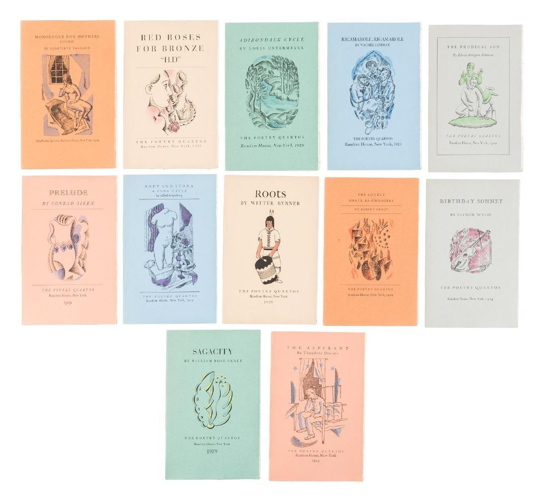 The Poetry Quartos 1929