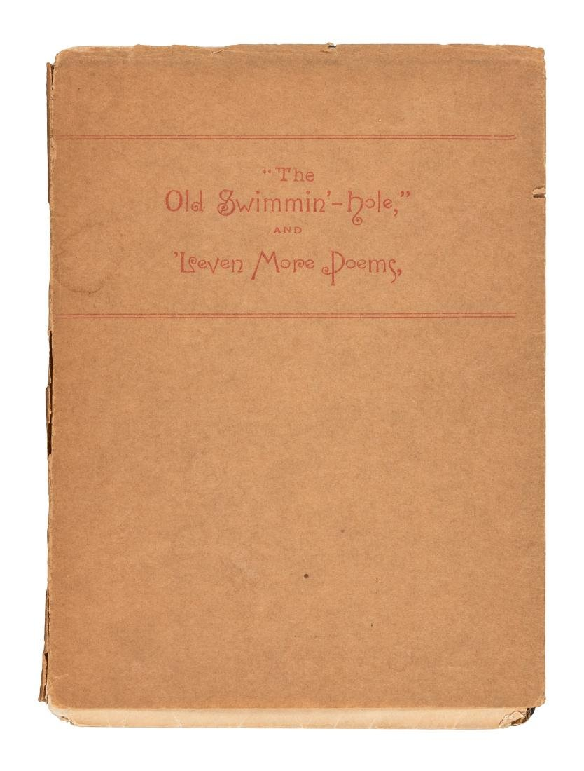 James Whitcomb Riley's first book