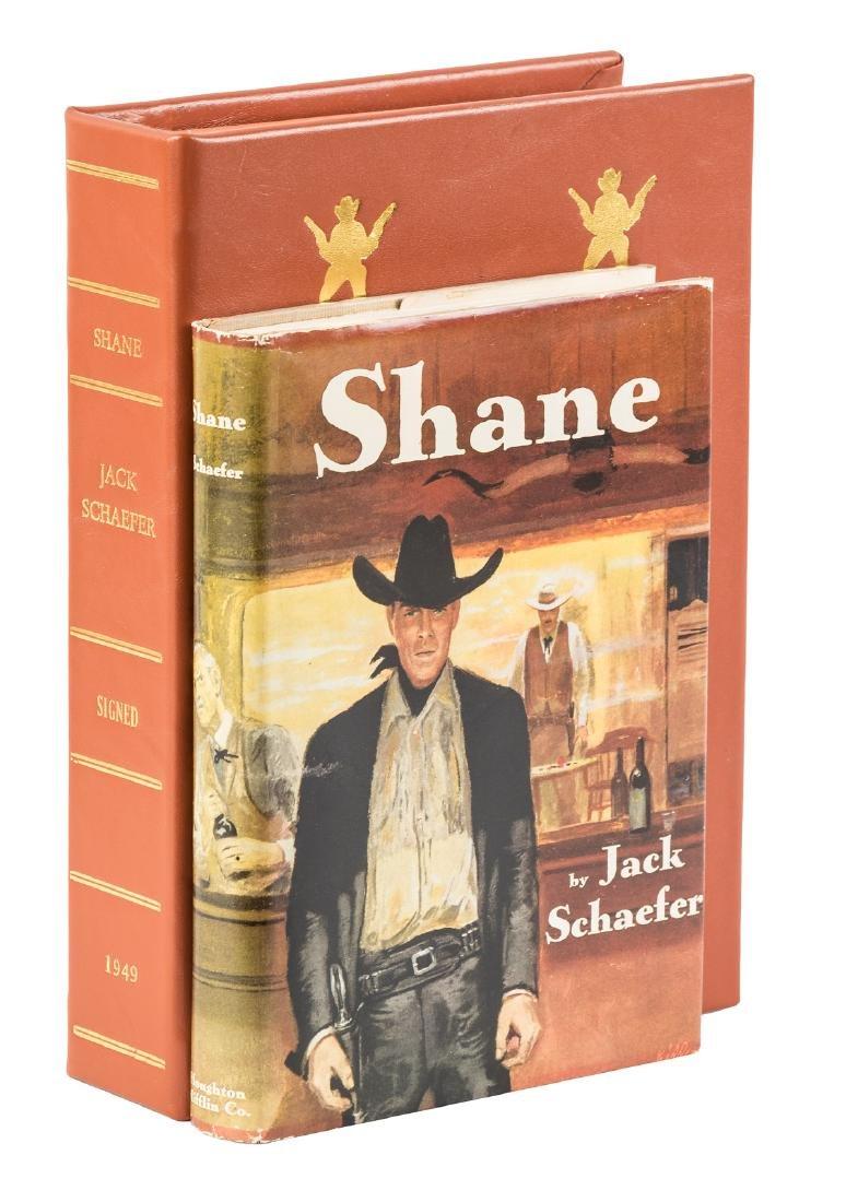 Jack Schaefer's Shane with rare proof jacket