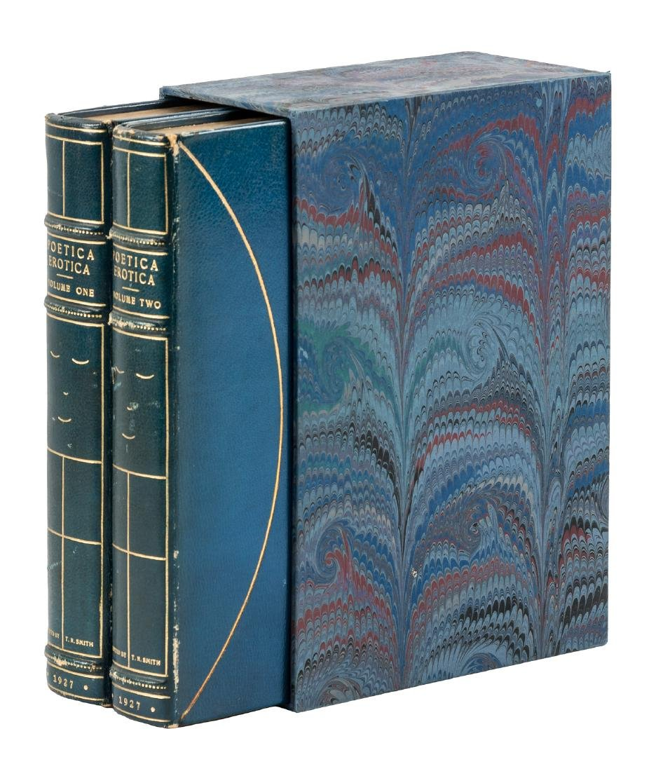 Erotic poetry finely bound