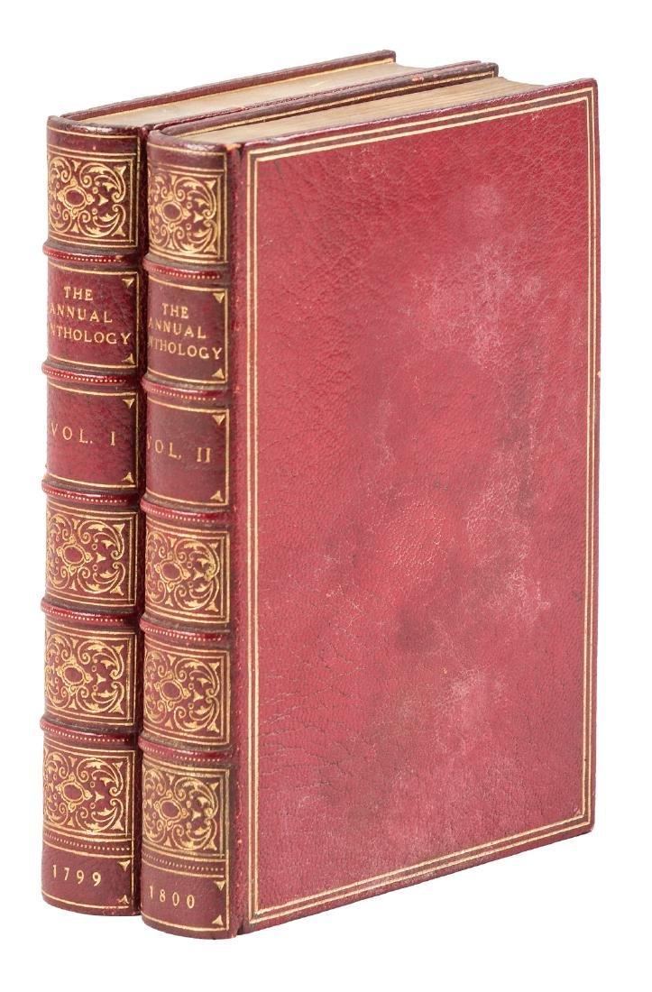 Annual Anthology w/Coleridge, Lamb, etc. 1799-1800