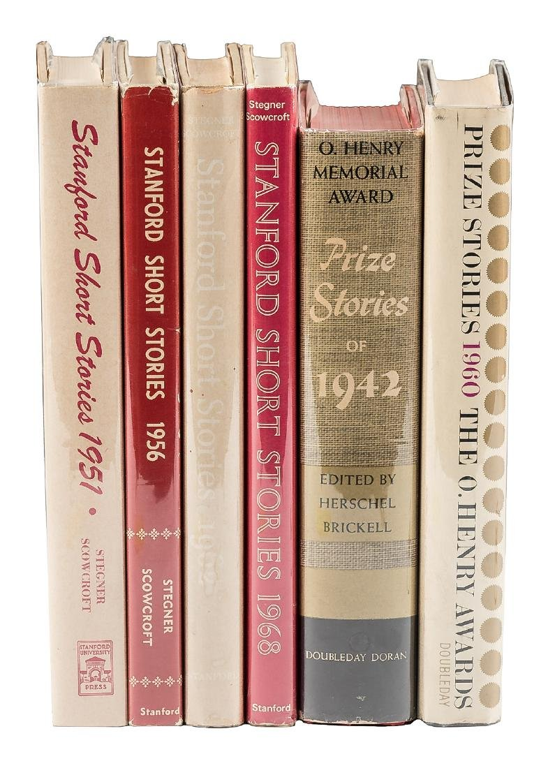 Six anthologies edited or by Wallace Stegner