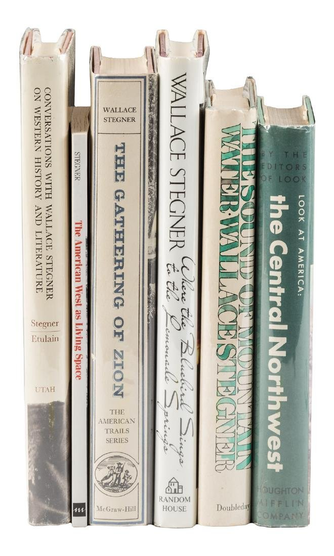 Six non-fiction works on the West by Wallace Stegner