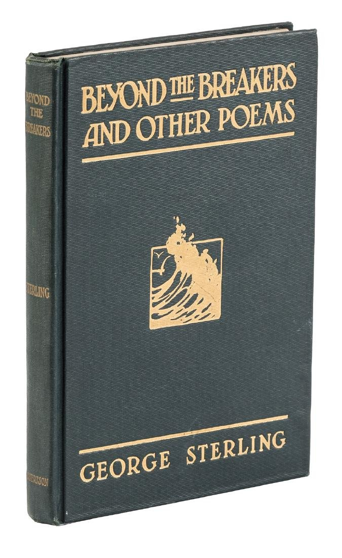 With full-page inscription by George Sterling