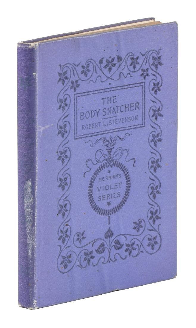 Robert Louis Stevenson The Body-Snatcher 1st Edition