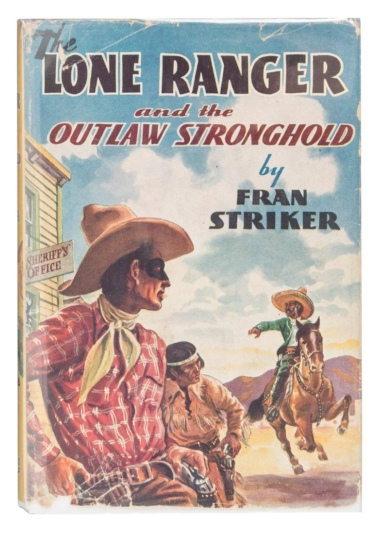 The Lone Ranger signed by Clayton Moore and John Hert
