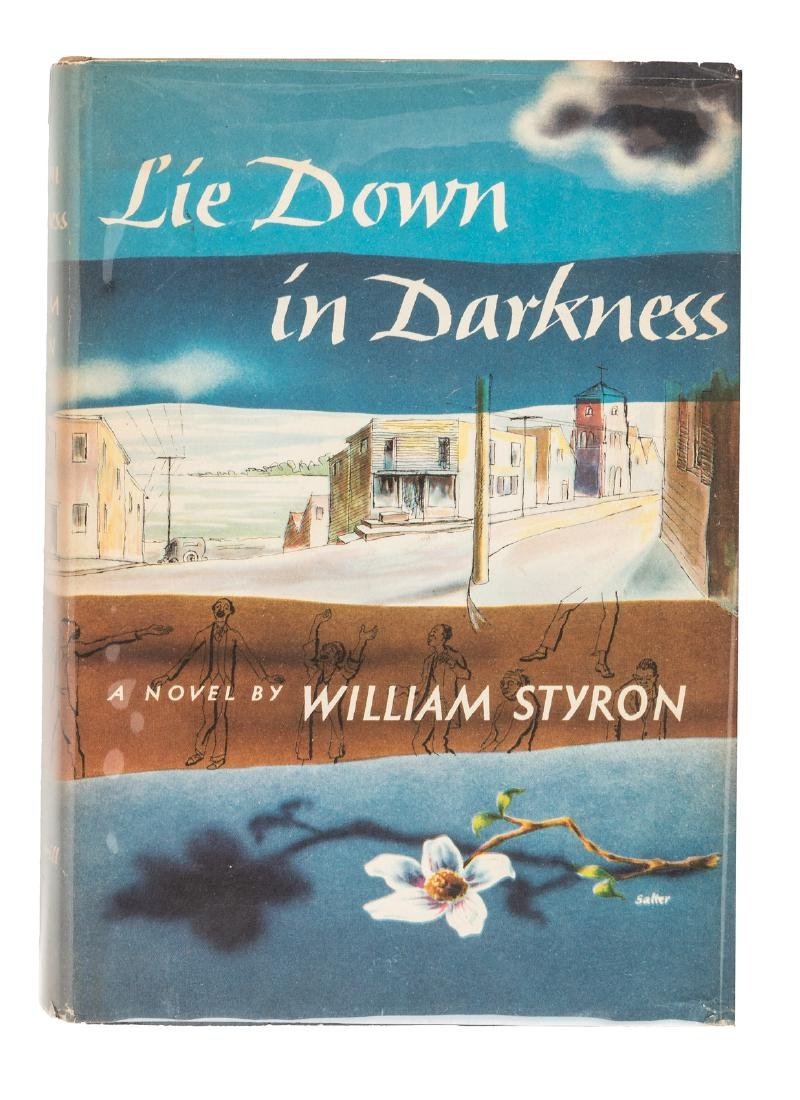 First edition of William Styron's first book