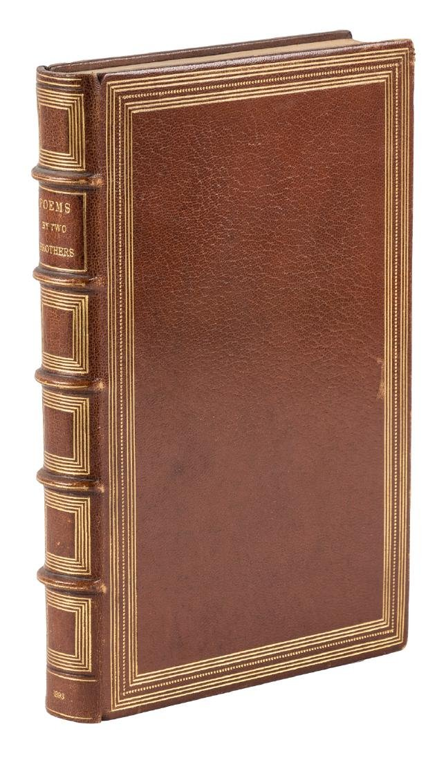 Tennyson brothers' first book