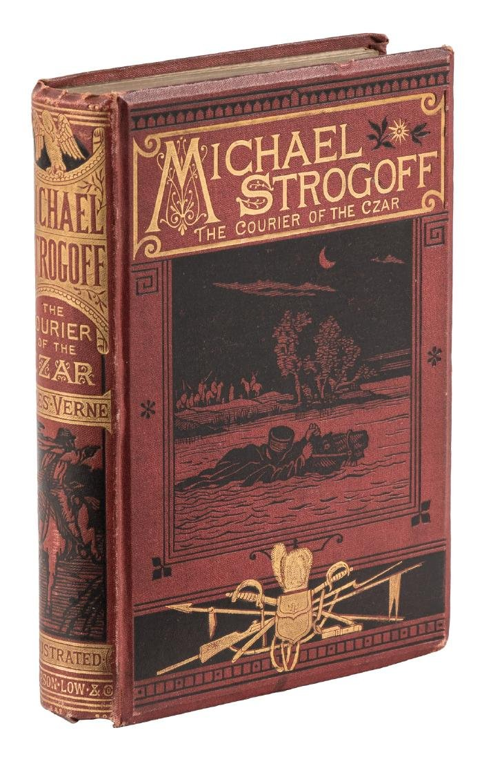 Jules Verne Michael Strogoff First English Edition