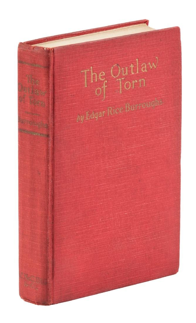 Burroughs, The Outlaw of Torn 1st ed.