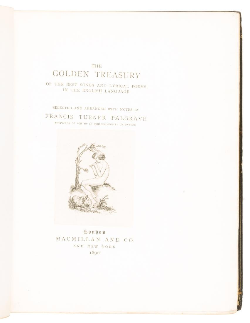 Palgrave's Golden Treasury bound by Zaehnsdorf - 3