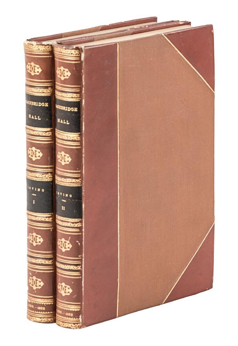 Washington Irving Bracebridge Hall 1st UK Edition
