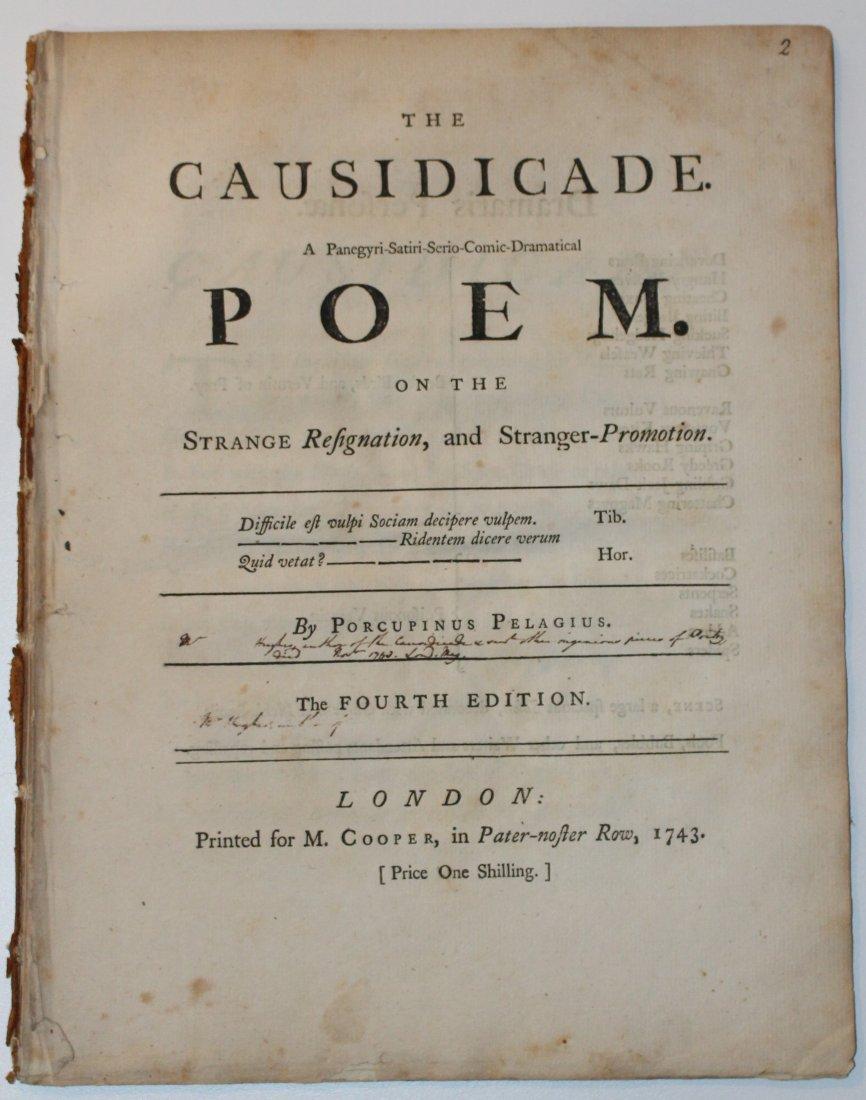 Poem Satirizing William Murray